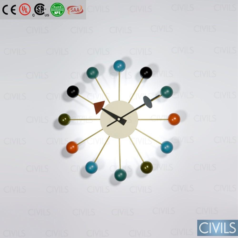 ball clock wall clock blank wall clock frei