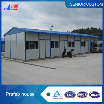 Easy Assemble Low Cost Steel Structure Prefab house