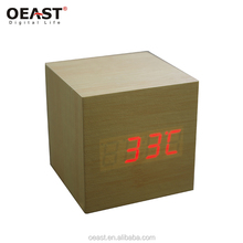 Digital thermometer decorative digital table clock
