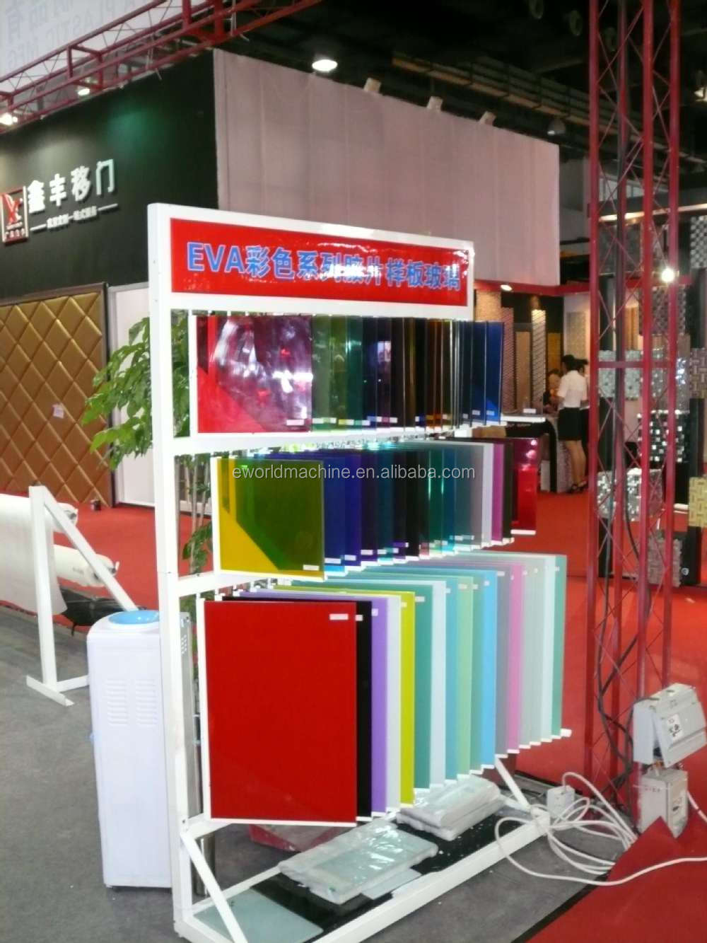 2019 outdoor glass eva film for laminated glass from World machine