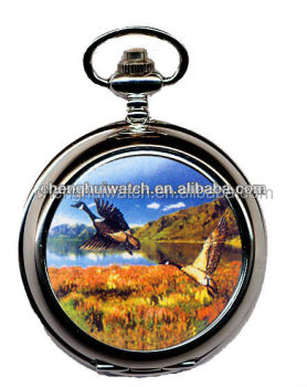 Hot selling wholesale vintage silver pocket watches Photo Pocket Watches