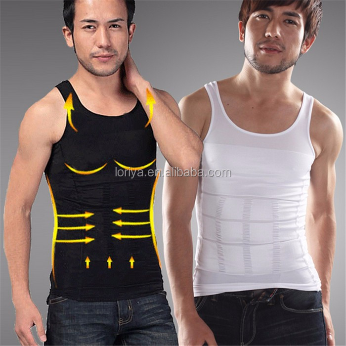 TV Product Men's Tummy Control Trainer Men Slim Body Shaper Girdle Vest Top