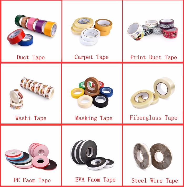 Cheap 0.99m width 11 colors nature rubber adhesive crepe paper painters masking tape jumbo roll