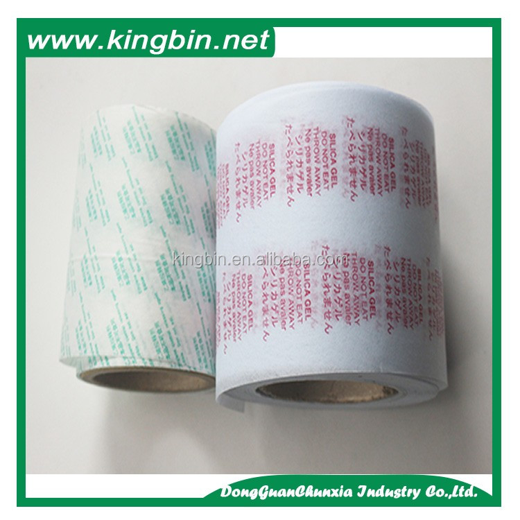 industrial chemical with japanese print warnings paper packed desiccant clay