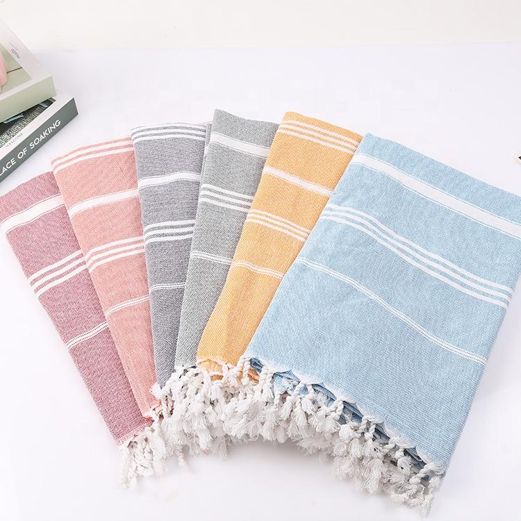 Быстросохнущее пляжное полотенце с защитой от песка, турецкое пляжное полотенце
