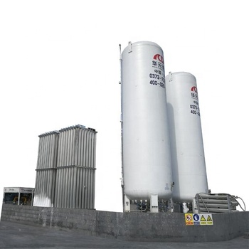 Large Volume Cryogenic LOX Storage Tank for gas company