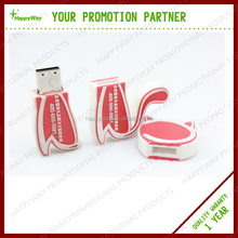 Personalized Cartoon USB Flash Drive MOQ100PCS 0504016 One Year Quality Warranty