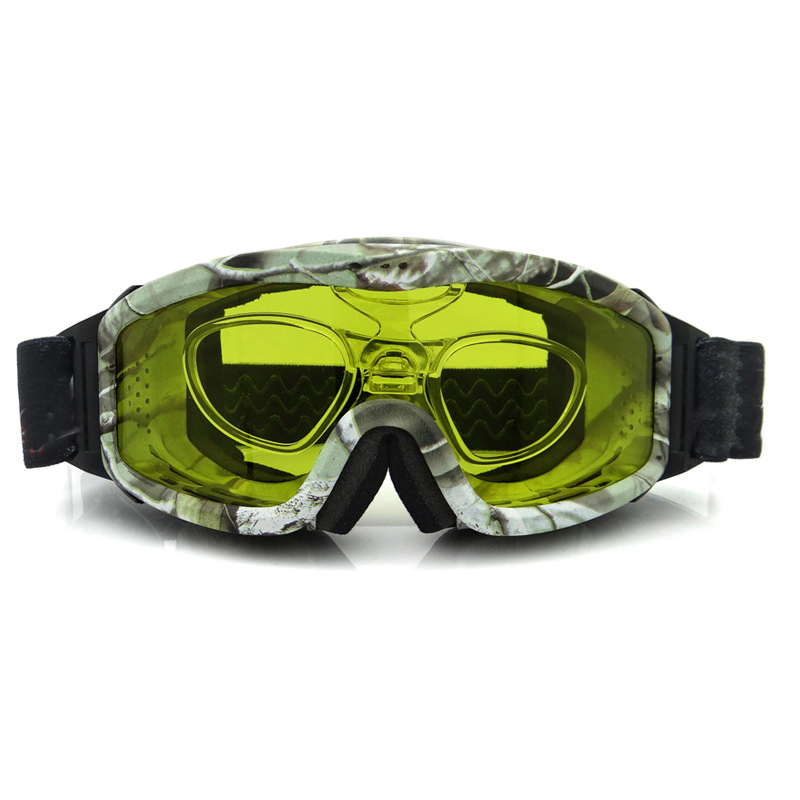 super anti-fog vision design safety snowboard eyewear glasses skiing