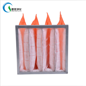 Lasting longevity pleated bag filter non woven filter material for filter bag
