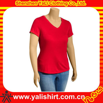 Wholesale comfort super soft v neck blank cheap women for 100 cotton v neck t shirts wholesale
