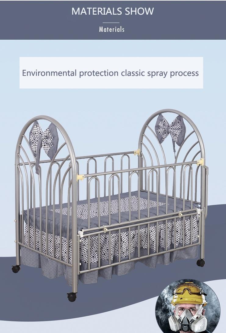 Luxury Bab Crib,Metal Frame Baby Cot - Buy Baby Cot,Metal Frame Baby ...