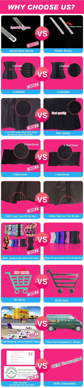 619f68eaa Hexin Fashion Cheap 4 Plastic Boned Breathe Hollow Waist Shaper Wholesale  Accept Private Label