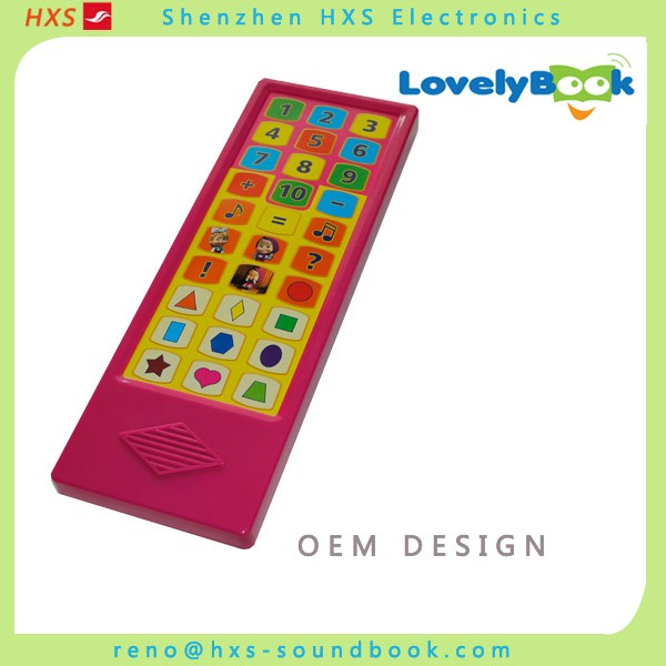 Customized sound module for children books/sound book