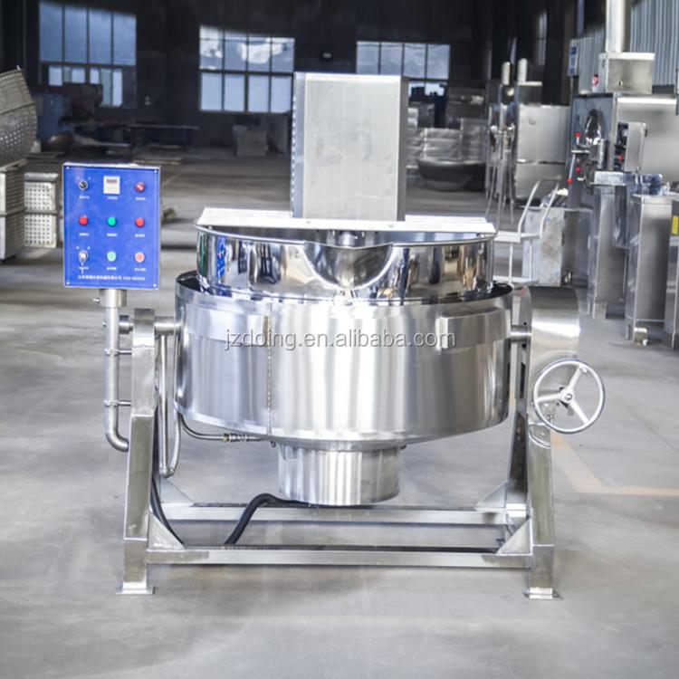 Stainless steel body structure garri fryer machine