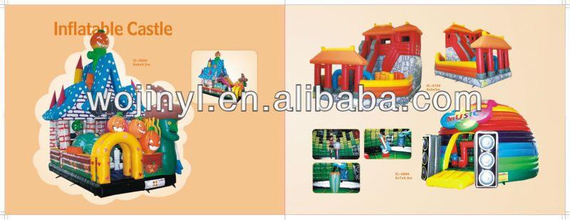 Inflatable bounce castle air castle for sale