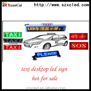 Top selling Programmable Moving message dot matrix LED display for bus taxi advertising sign