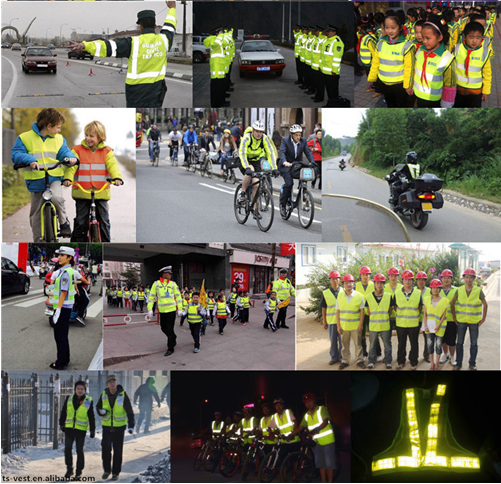 Safety Working Manufacturer of Warning Reflective Running Vest