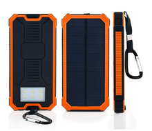 Factory price solar panel 5V 2.1A dual USB portable mobile solar power bank 10000 for mobile phones