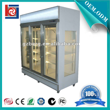 Hot sale splendid appearance flower display cooler