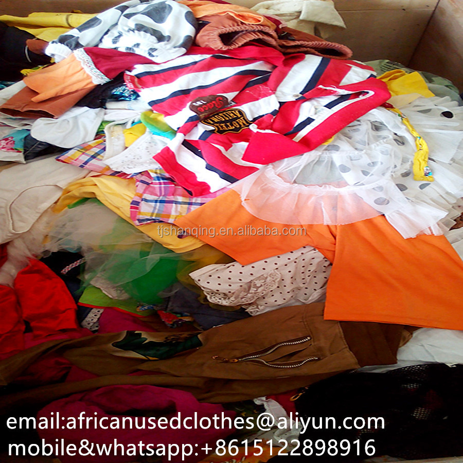 used clothing children summer wear(0-5years),2017 year exporting used clothes to africa
