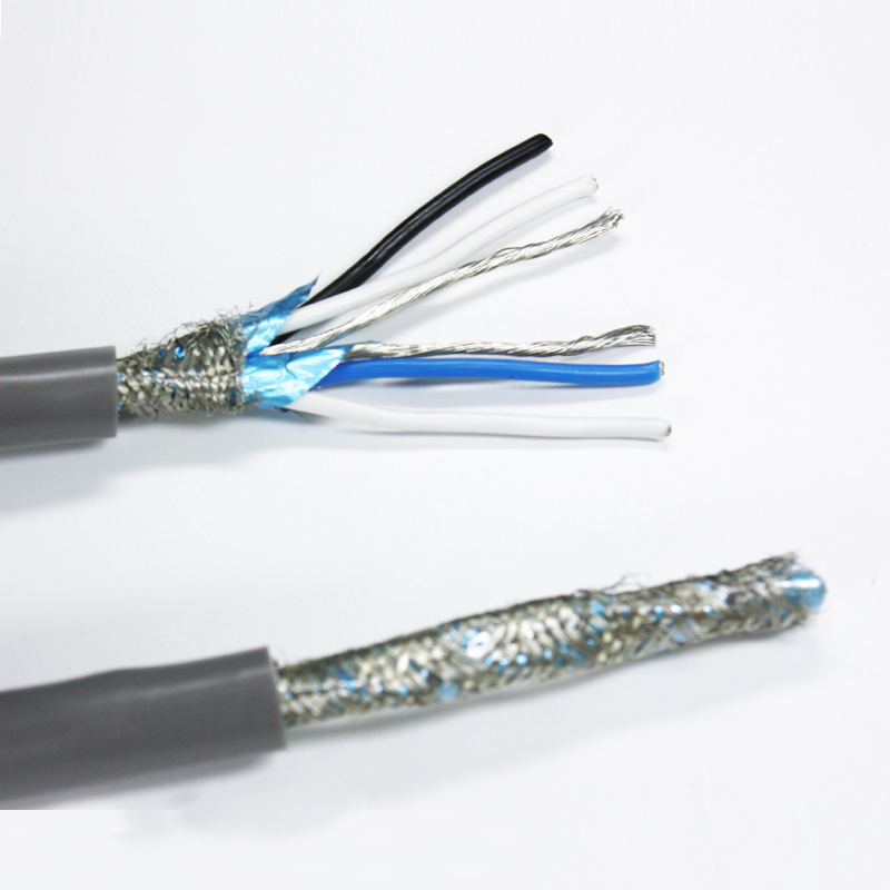 Rs485 Twisted Pair Shielded Wire Types Of Communication Data Cables ...