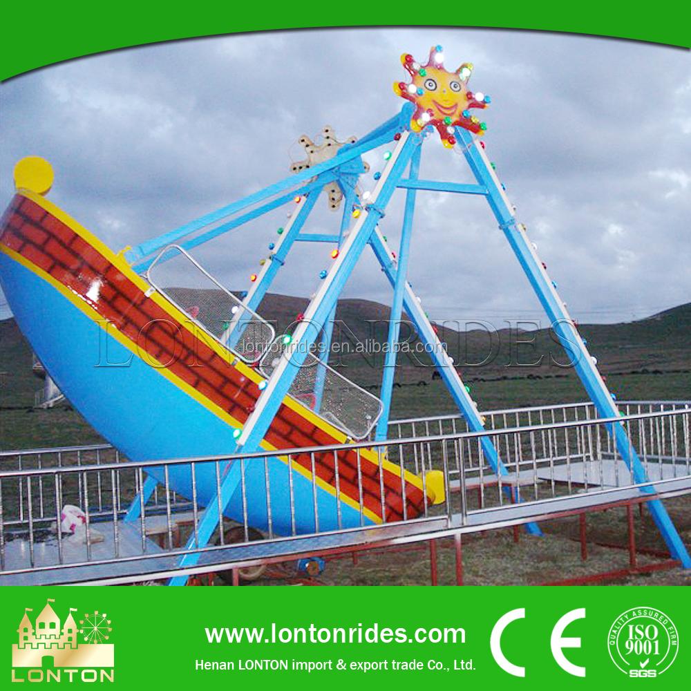 backyard amusement ride mini pirate ship gondola swing ride price