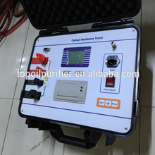 Digital ground resistance tester/contact resistance analyzer