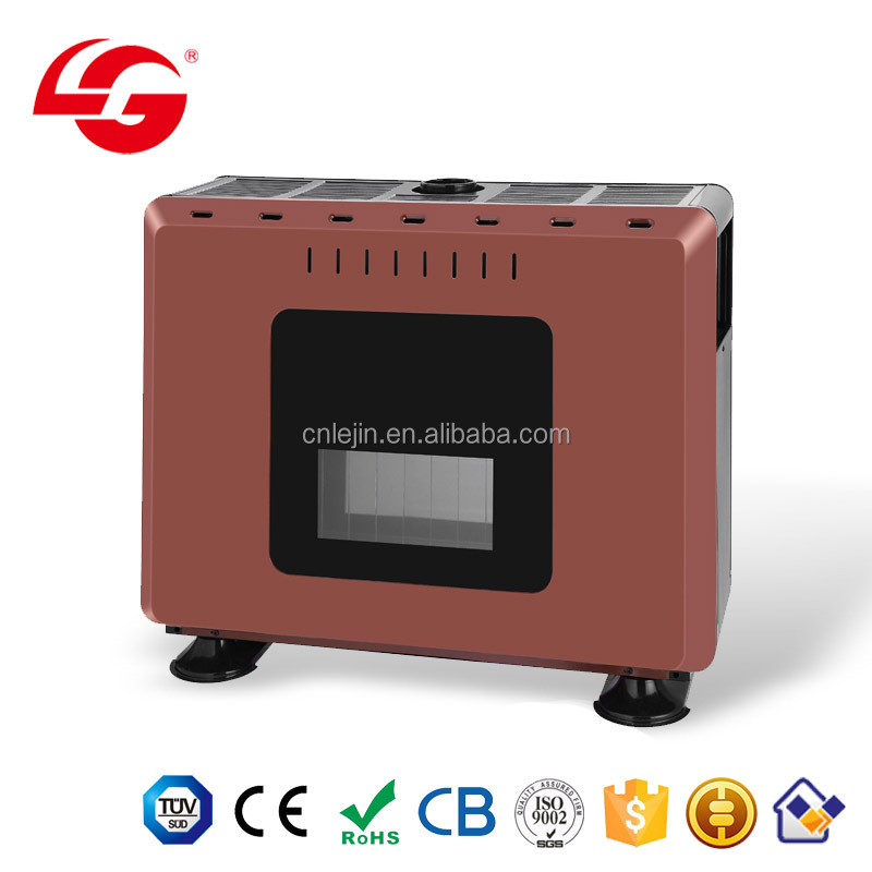 cheap living room bedroom innovation blue flame convector LPG gas heater