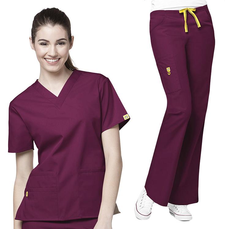e3c6de1fa1b Women's Scrub Uniforms /hospital Uniforms/nursing Suits - Buy Nurse ...