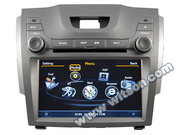 Witson Car Video For Chevrolet Trailblazer Lt With Gps A8 Chipset
