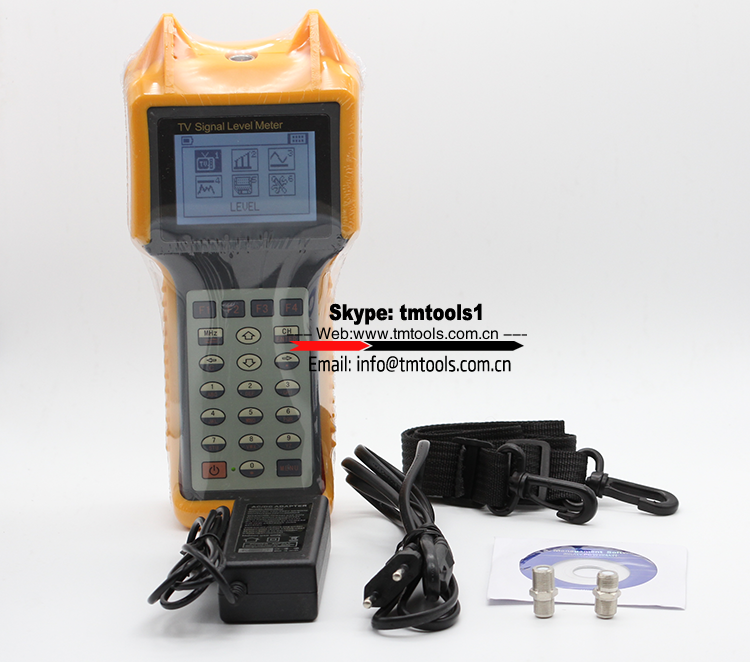 SLM-5870 Digital Signal Level Meter Channel and single frequency mode