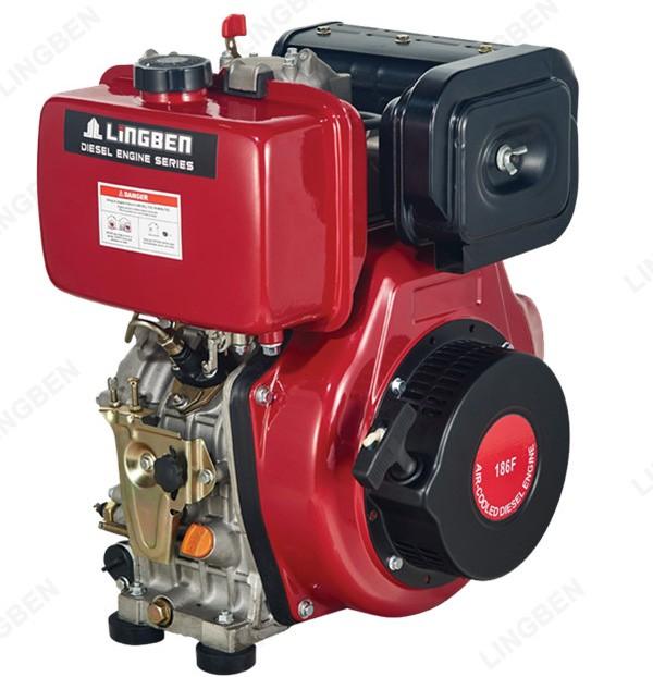 Lingben Diesel Engines 10hp Marine Diesel Engine Parts Air