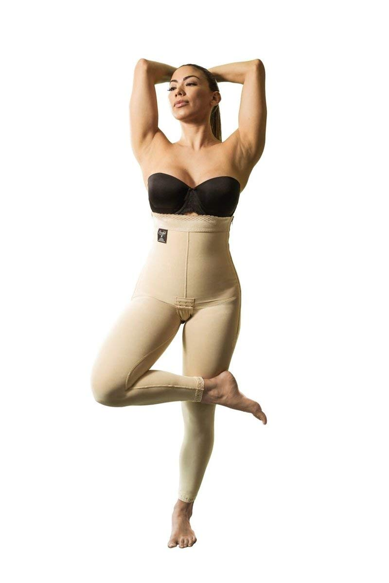 Compression Garment - High Waist Ankle Length Girdle - M - 33-35 Inch Under Bust, 32-34 Inch Waist, 40-42 Inch Hip - MOD-43-M