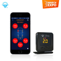 Intelligent smartphone car tpms, bluetooth car tpms working for android and iOS system smartphone