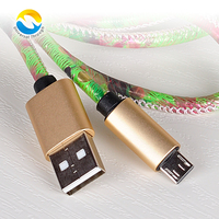 Colorful leather USB cable fast charging cable for android phone,for Samsung/for Huawei and For Iphone /for Ipad