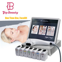 Top Beauty 2d 3d hifu focused ultrasound face lifting hifu corporal y facial machine