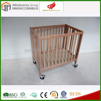 En716 Zertifiziert Holz Baby Klappbett,Faltbar Babybett - Buy ...