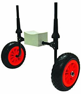 Malone Xpress Scupper-Style Kayak Cart For Sit-On-Top Kayaks by Malone