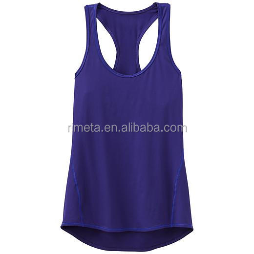 Wholesale racer back singlet with private logo and label casure loset-shirt
