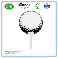 Promotional Customized Shaped Advertising Plastic Hand Fan - Buy ...