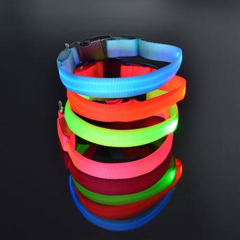 de koninklijke serie glowing led verlichte halsband tz pet2110