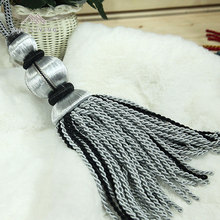 New fashionable cheap classical curtain wholesale tassels