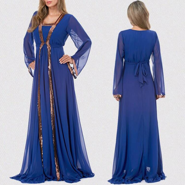 2017 Fashion arab modern dubai abaya models kaftan