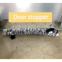 Custom push farcito animale zebra doorstoppers <span class=keywords><strong>giocattoli</strong></span>