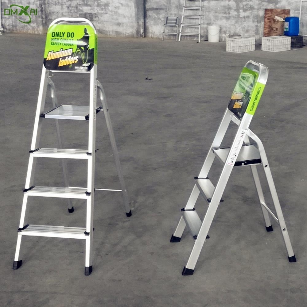 High Quality Cheap Price Household Aluminum Folding Step Ladder 3 4 5 6 7 8 9 Step