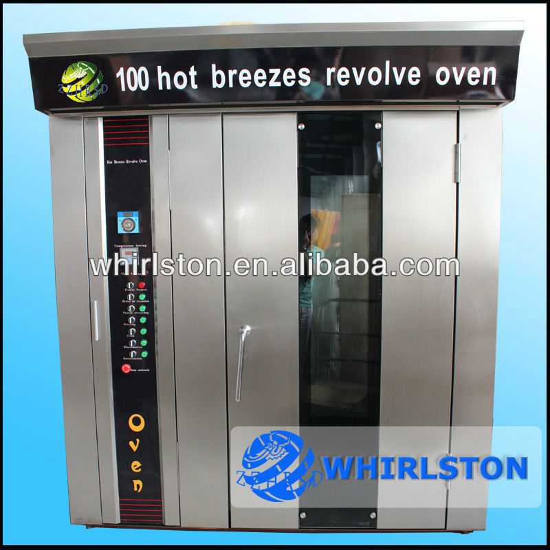 Stainless steel rotary oven bread maker