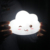 Cute bedroom table decorative small baby battery pvc LED cloud night light