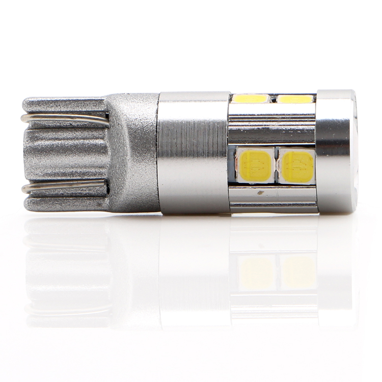 Reading Lamps High Quality LED License Plate Lights Canbus Clearance Lights 1 Pair T10 9SMD 3030 Reversing Lamps