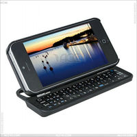 For Apple Iphone 5 Mini bluetooth keyboard case cover with backlight