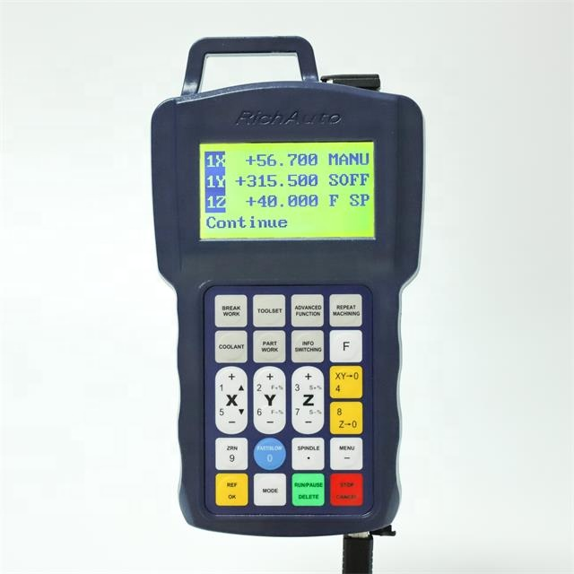 Woodworking Machine Parts Wood Router Controller Remote Control cnc Controller RichAuto B11  DSP Control System